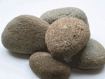 large river round stones