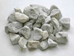 long island decorative 3/4 inch white stone
